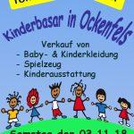 Kinderbasar in Ockenfels