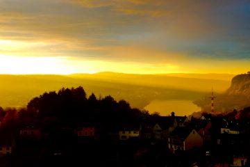 Ockenfels Sonnenuntergang