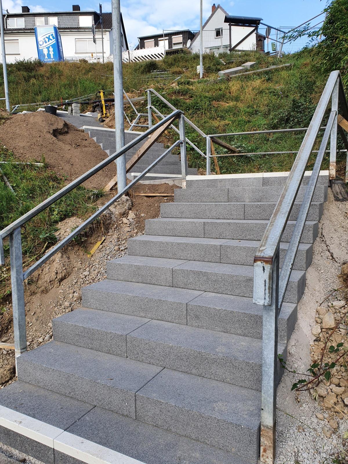 Treppenbauarbeiten Ockenfels 20200916